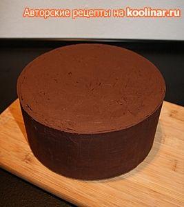 Выравнивание торта под мастику
