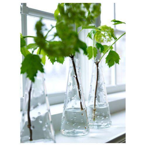 Ikea Clear Knobby Glass Vase-Snartig X3 Ikea http://www.amazon.com/dp/B00ITX54FQ/ref=cm_sw_r_pi_dp_QdQ3tb1DYYN315FJ