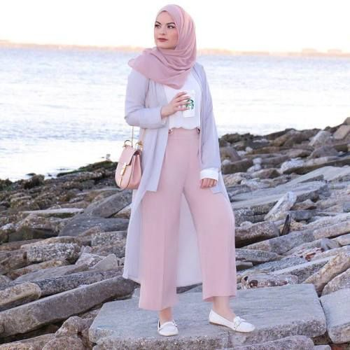 spring hijab fashion 2018-Modest and colorful hijab outfits – Just Trendy Girls
