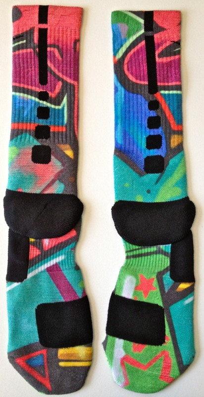 Custom NIKE elite socks - works of art!