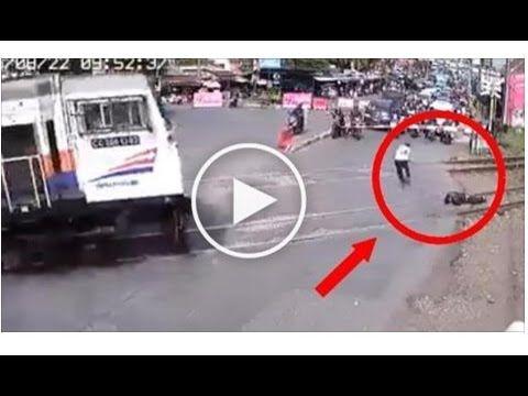 Seorang Satpam Bunuh Diri Sengaja Tengkurap di Rel Kereta Api, Endingnya...
