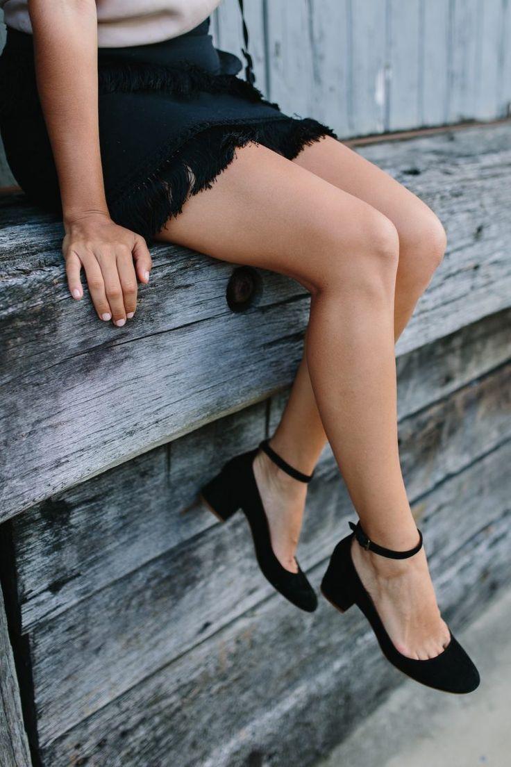 A Pair & A Spare | DIY Fringe Skirt
