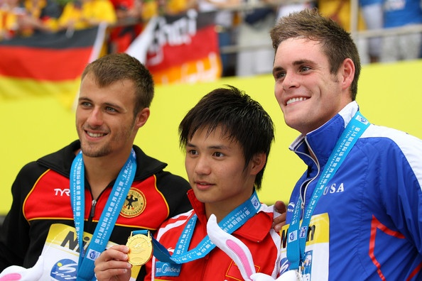 David Boudia and Qiu Bo
