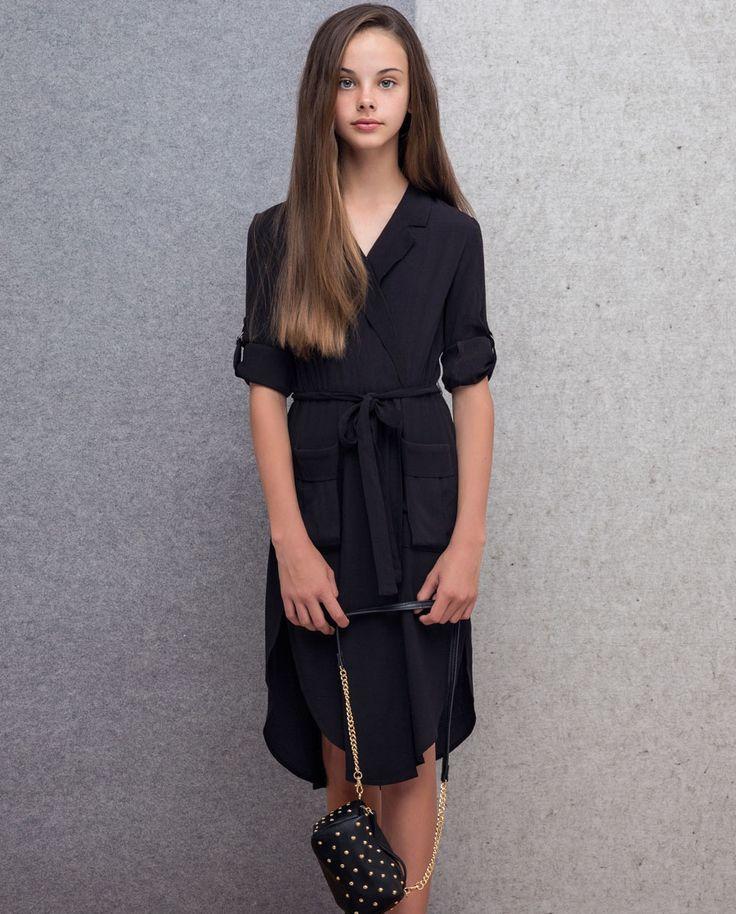 Girl's Shirt Dress - Bardot Junior