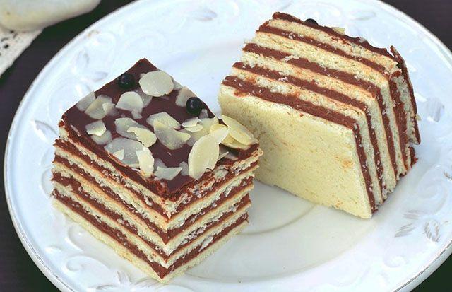 Ötlapos szelet, igazi ünnepi desszert - www.kiskegyed.hu