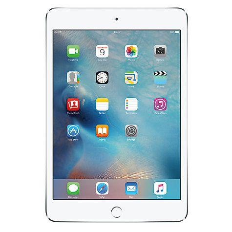 "Buy Apple iPad mini 4, Apple A8, iOS, 7.9"", Wi-Fi, 128GB Online at johnlewis.com"