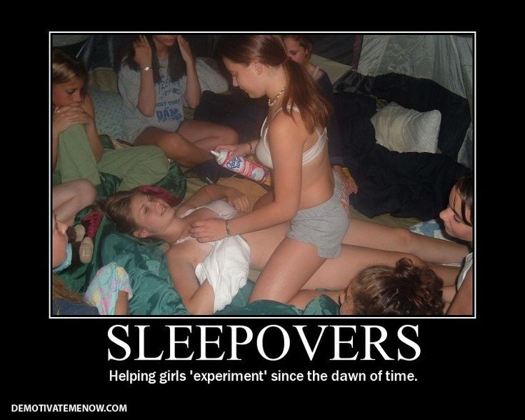 real teen sleepover