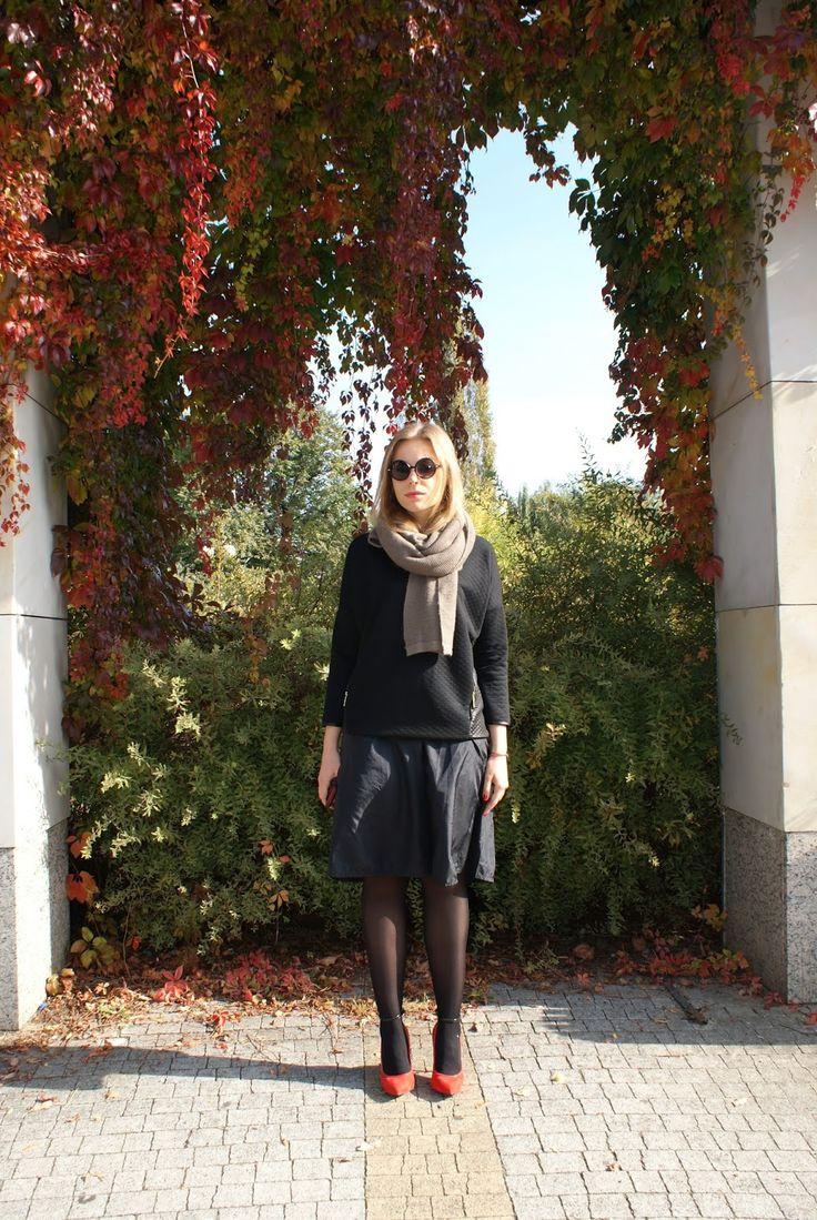1257 best Scarves images on Pinterest | Look on, Black leather ...