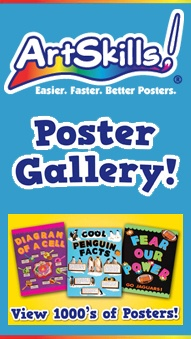 Search thousands of poster ideas in our online Poster Idea Gallery. You can search by school subject such as science posters or history posters or search by poster topic like science fair, lemonade stand or bake sale. If you need help designing your poster, check out our free online Poster Maker! I have used this sight for my girls projects and it's GREAT!!!