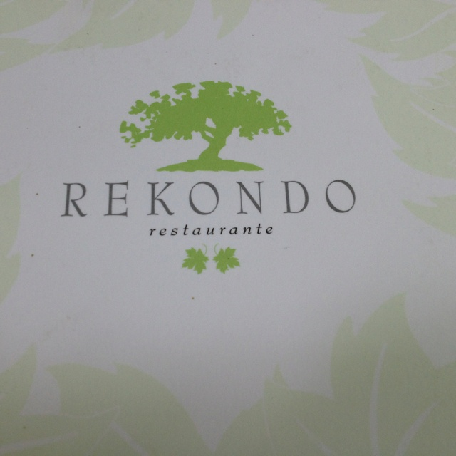 Rekondo.  Placed on a hillside, overlooking the San Sebastian harbour, and under the shade of pergola shaped maple trees, Rekondo has a setting to die for. The restaurant is known for it amazing wine list, covering all the classic wine appilations, but is especially known for its insane collection of old Spanish wines and the restaurant's moderate pricing. It is a true place of pilgrimage for wine lovers. We experienced the food to be of high and consistent quality.