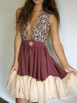 Fancy bohemian dress