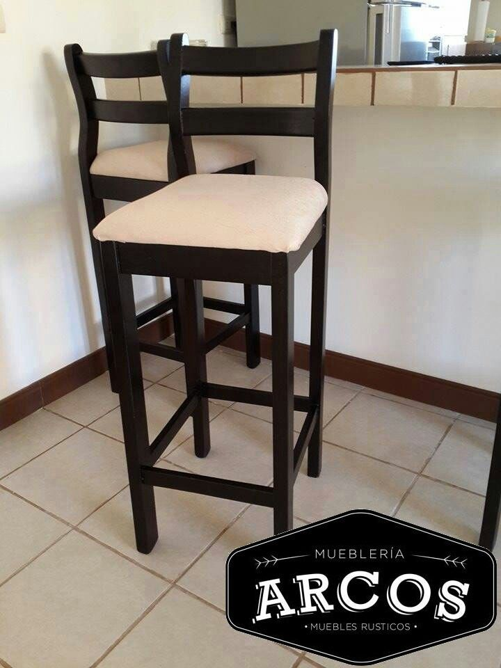 Bancas para comedor muebles altos para comedor kingston for Butacas para barras en madera
