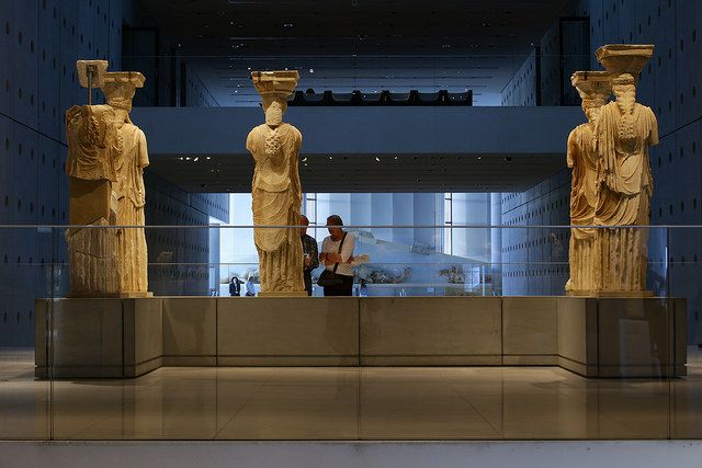 Get up close and personal with legendary ancient sculptures at the Acropolis…