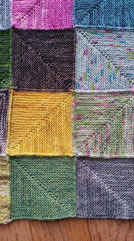 Spring Stroller Blanket A Loom Knit Pattern Etsy