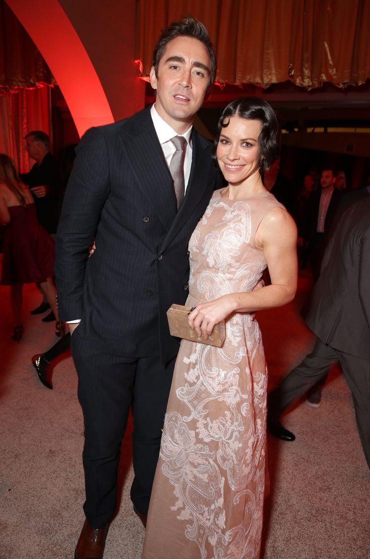 Lee Pace and Evangeline Lilly at The Hobbit: Battle of the Five Armies Los Angeles Premiere After-Party on December 9th, 2014.