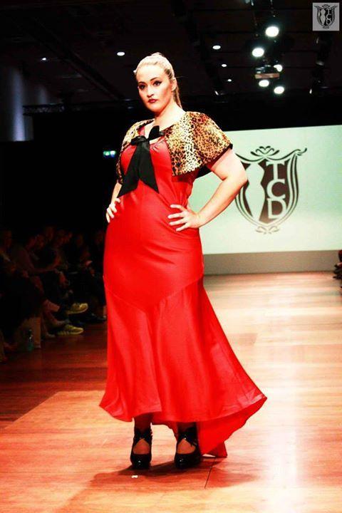Lady Marmalade Dress w/ Fur Coat   WFW