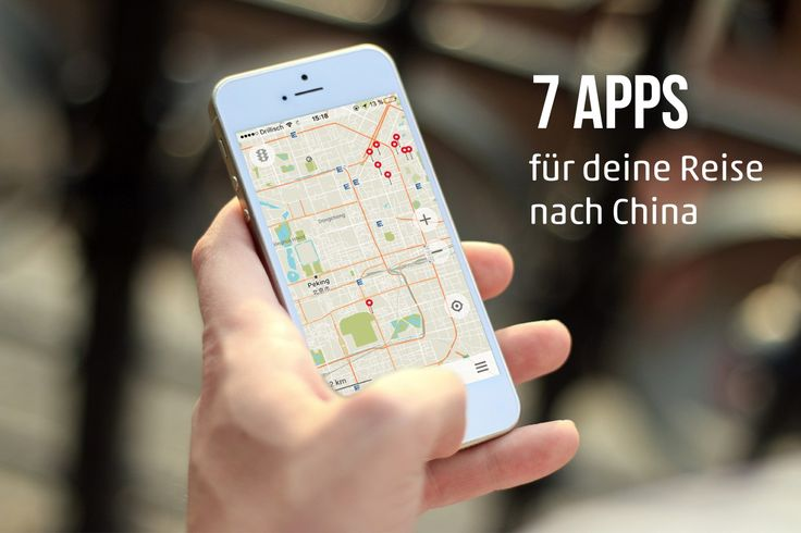 7 Apps für deine Reise nach Peking und China | 7 Apps for your trip to Beijing