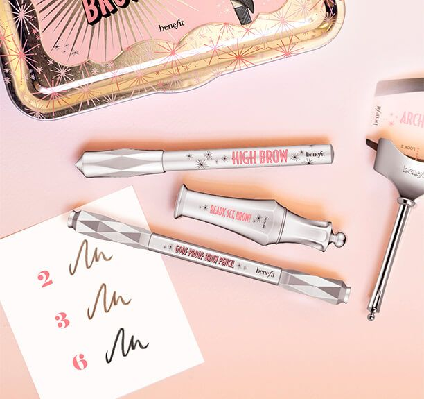 Fill, shape and set your brow arches to perfection. xx