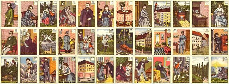 The antique Kipper Tarot card meaning