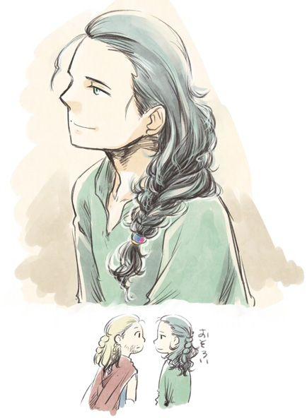 ゆるふわ三つ編みロキたん Braid Loki