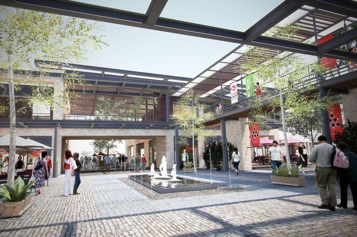 Construccion centro comercial majadas once guatemala - Centro comercial moda shoping ...
