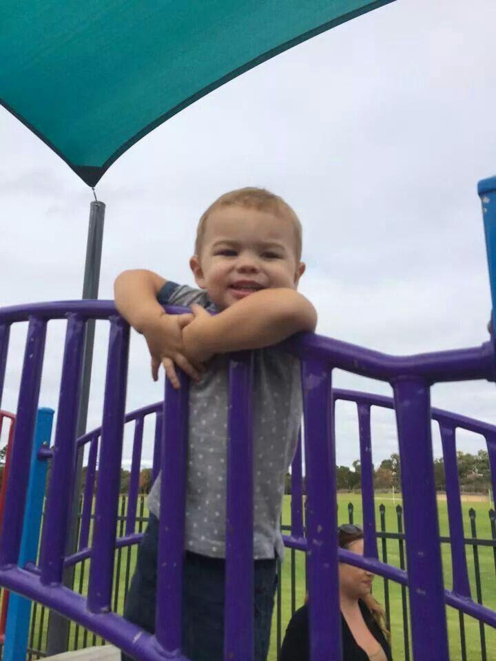 My gorgeous grandson. X
