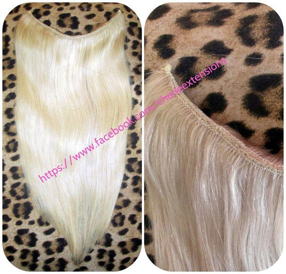 WOW Remy Human Hair Extensions Like Halo by CherieHairExtensions
