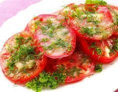 Вкуснейшие помидоры по-итальянски! Освежающая закуска за полчаса