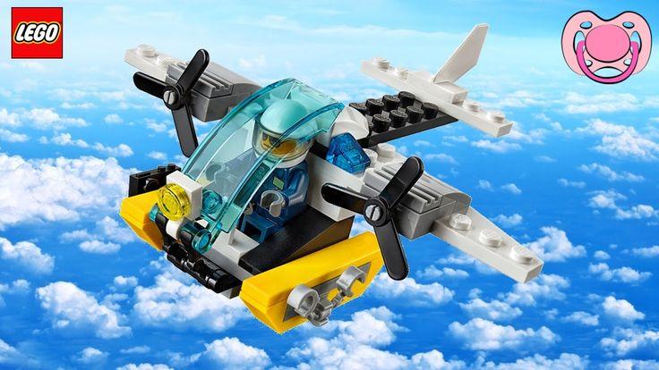 Lego City - Avião da Ilha-Prisão (30346)