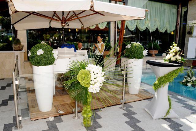 #FioriDArancio #White #Flowers #VillaCaribe #BestPictures #Wedding