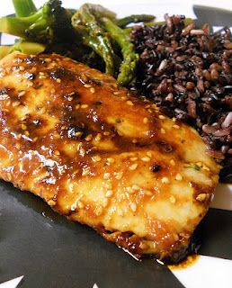 Sweet & Spicy Mahi Mahi (modified)