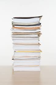 Image result for piles of paper