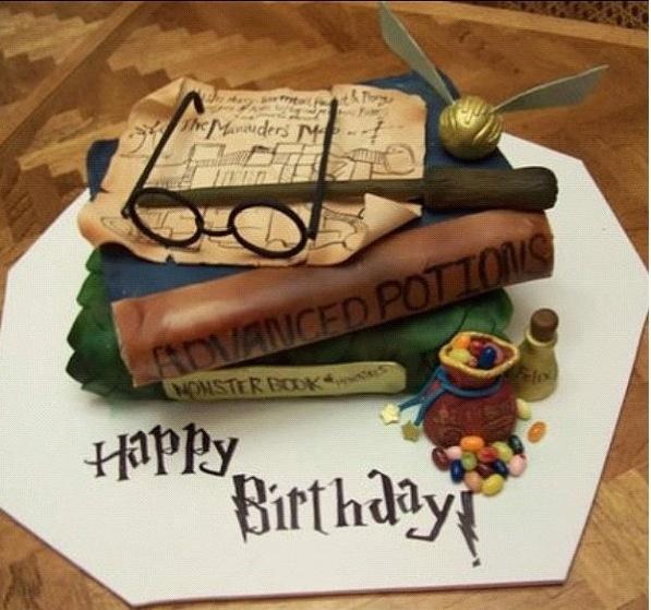 Поздравление с днем рождения в стиле гарри поттер