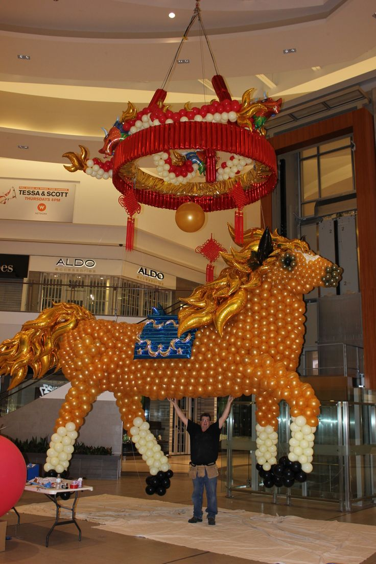 Crazy balloon animals - The Year Of The Horse By Stewart S Baskets Balloons Www Reli