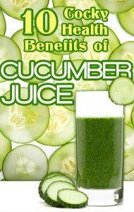 10 Health Benefits of Cucumber Juice