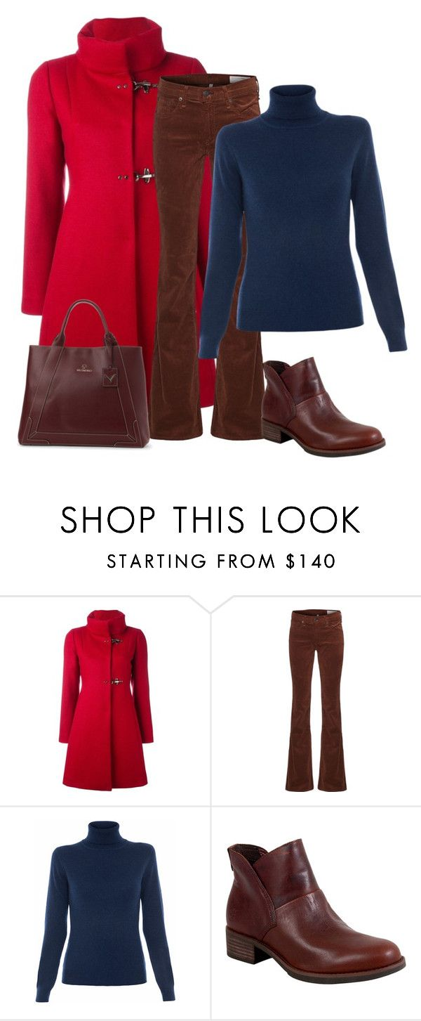 """""""Untitled 16"""" by havlova-blanka on Polyvore featuring FAY, rag & bone, Repeat Cashmere, Timberland and Mario Valentino"""