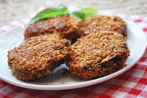 Baked Breaded Eggplant - going to use egg whites, instead of whole egg, but these do look good :o)