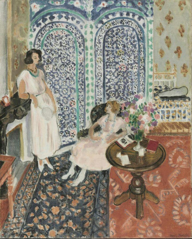 Zorah sul terrazzo. 1912-13. Museo Pushkin di Mosca