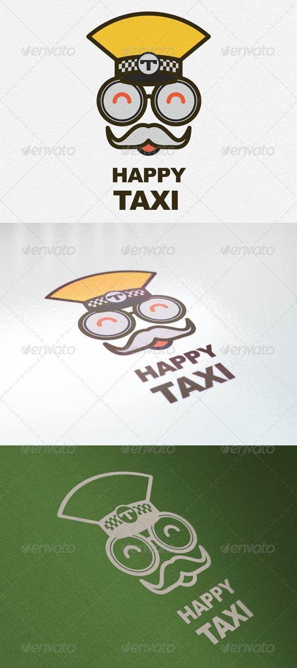 Happy Taxi Logo  #GraphicRiver         Happy Taxi Logo CMYK Customizable EPS The logo is 100% vector, making it fully resizeable with no loss of quality  	 ZIP contain: 1. Fully editable EPS CS Vector illustration. 2. High Resolution transparency RGB PNG image.     Created: 28August13 GraphicsFilesIncluded: TransparentPNG #VectorEPS Layered: Yes MinimumAdobeCSVersion: CS Resolution: Resizable Tags: auto #automobile #business