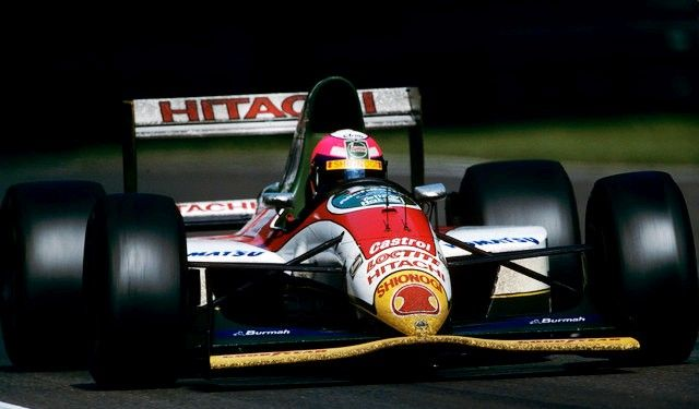 1993 Lotus 107B - Ford (Pedro Lamy)