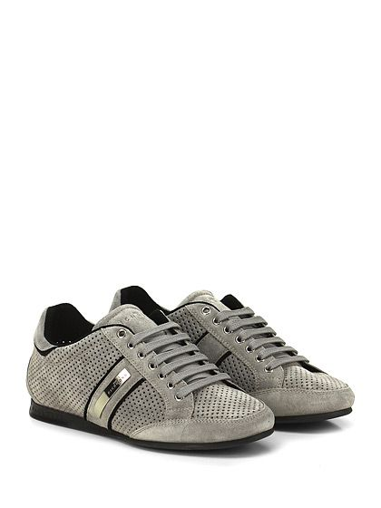 JOHN RICHMOND - Sneakers - Uomo - Sneaker in camoscio con suola in gomma, tacco 15. - GREY - € 255.00