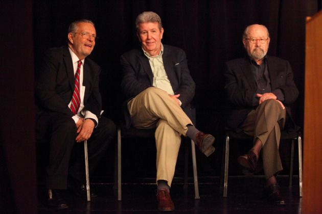 José Carreño Carlón, Director General del FCE, Jorge Herralde y J. M. Caballero Bonald: 50 años en España de la librería del FCE