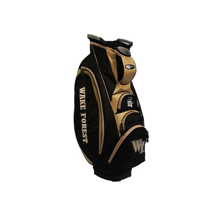 Team Golf Wake Forest Demon Deacons Victory Golf Cart Bag, Multicolor