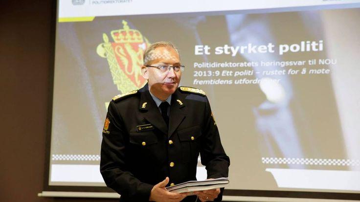Politidirektoratet støtter hovedkonklusjonene i Politianalysen og vil redusere antallet politidistrikter fra 27 til 6.