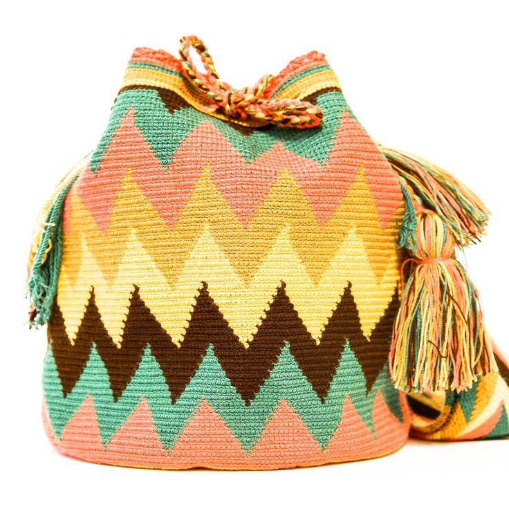 Bolso Wayuu Mochila | WAYUU TRIBE – WAYUU BAGS | Free Shipping - USA | Global