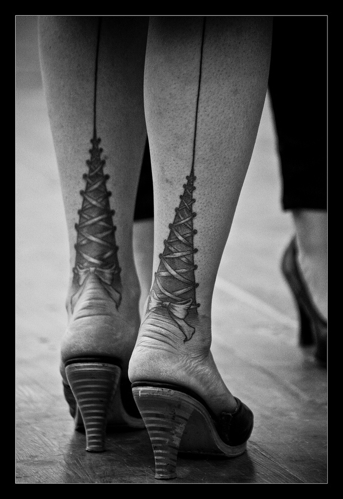 laces #tattoo glad I never did this