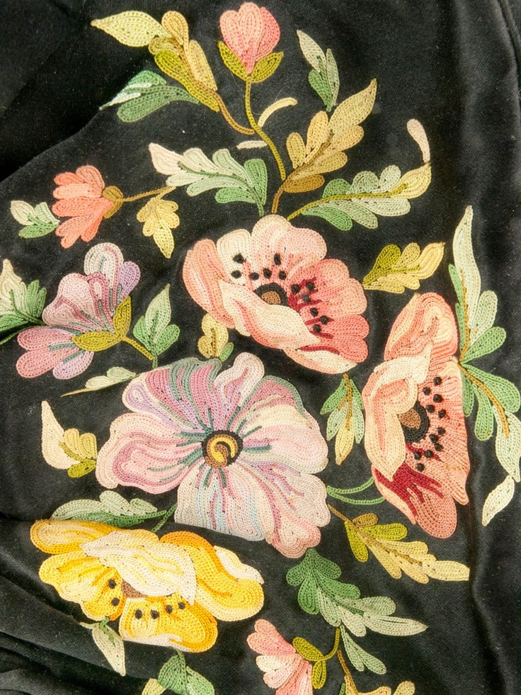 tambour embroidery work