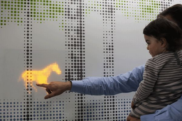 Interactive LED Installation Calms Children On Their Way to Surgery