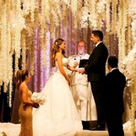 Romantična svadba Sofie Vergara i Joe Manganiello