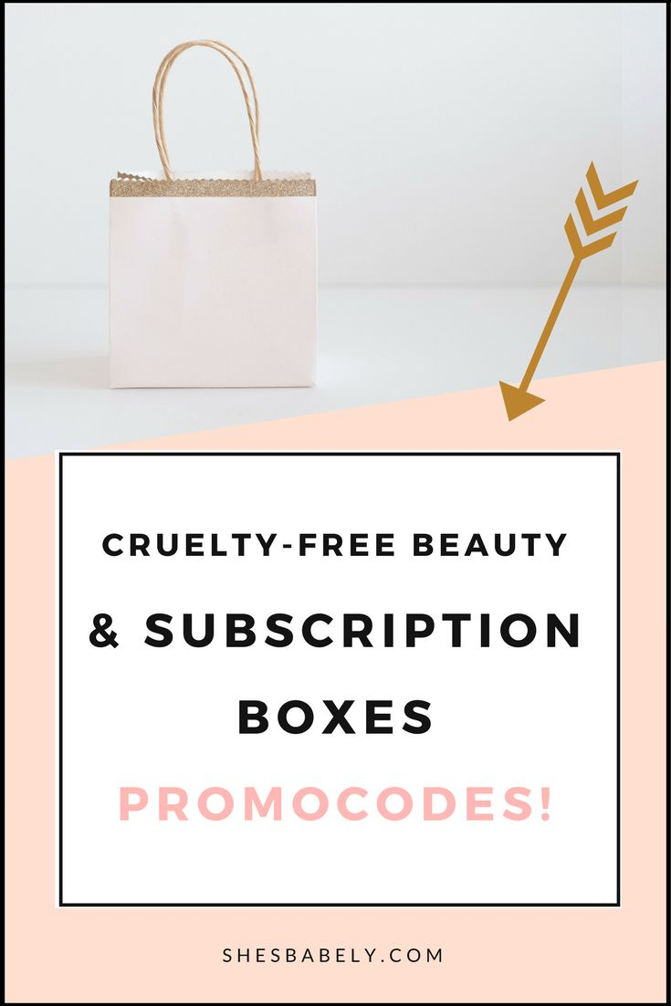 Best subscription boxes - Subscription box promocodes - slaes cruelty-free beauty best subscription boxes - cruelty-free beauty box subscriptions - vegan beauty box - vegan subscription box - unboxing subscription box review | shesbabely.com